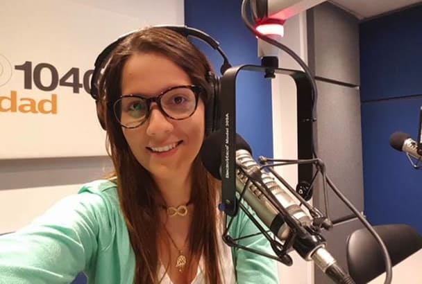 record the best female LatinAmerican voice over