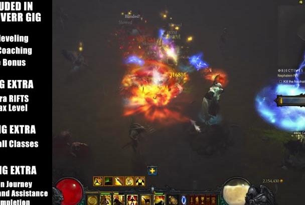 help You Power Level To 70 In Diablo 3 Season