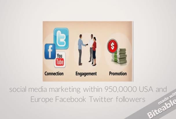 do social marketing of your WEBSITE to millions of social members