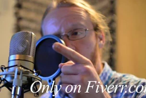 record a celebrity voice impression