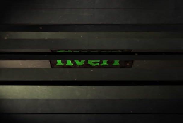 create this cinematic Animated Logo Video Intro
