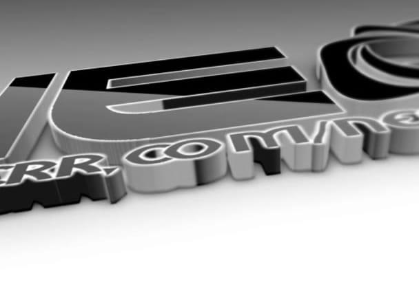 make 3D GLOSSY lNTRO