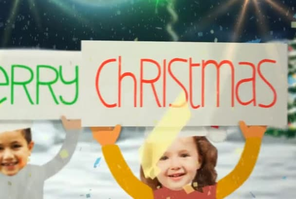do Awesome Christmas New Year Wishing Video