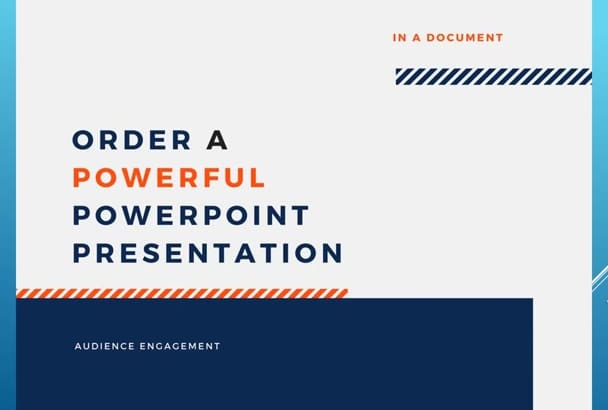 create and develop your PPT or video resume