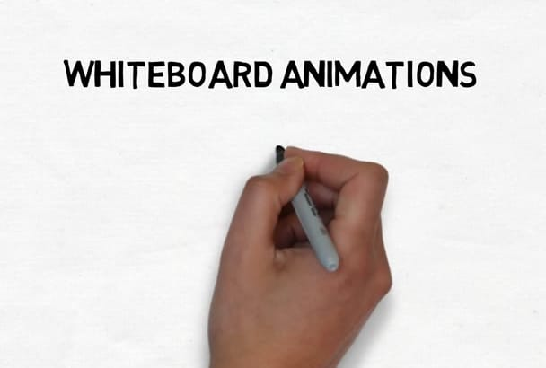 create a Whiteboard Animation video