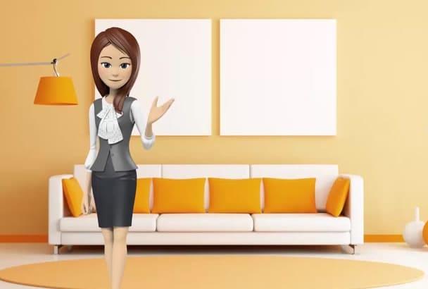 make 3D Character Testimonial