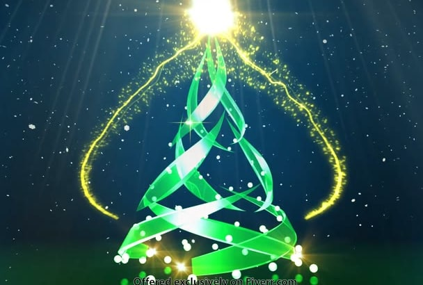 create AWESOME Holiday Animation FullHd 1080