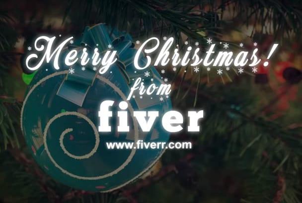 create This Amazing Christmas Greeting