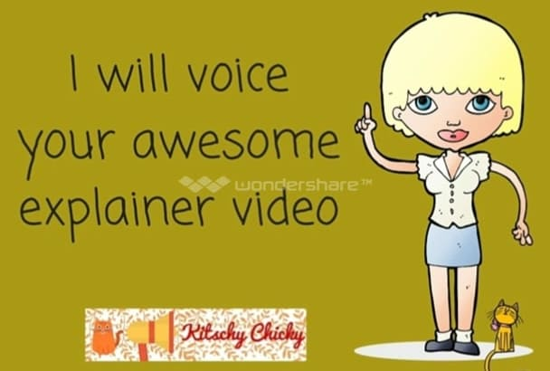 voice your awesome explainer video