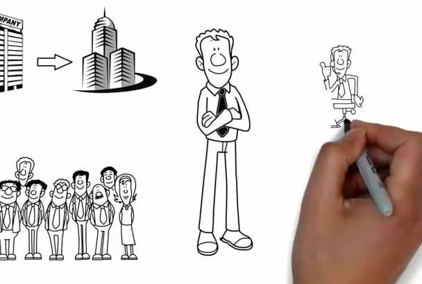 create Professional Amazing Whiteboard Animation Video