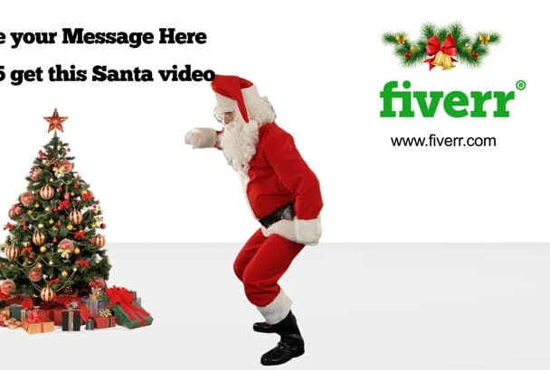make this FUNNY Santa dance video in 1 hr