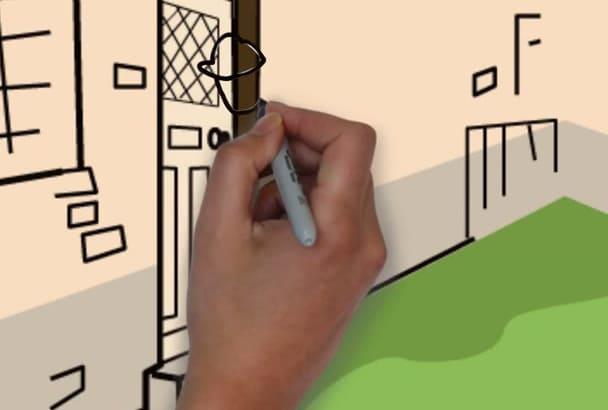 create this LocksmithWhiteboard Video