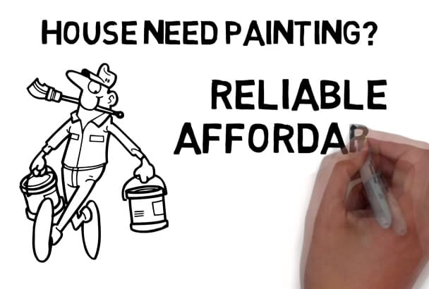 create this AWESOME Painter Whiteboard Video
