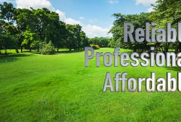brand a video customized for Lawn Service business