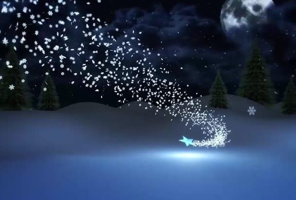 create Christmas Tree Video