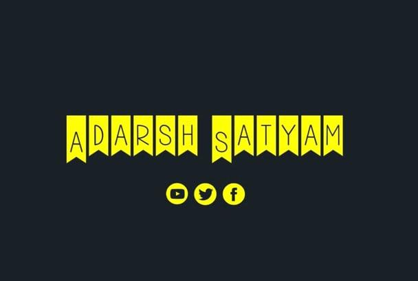 adarshsatyam and good gode