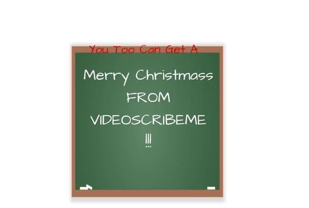 make you a merry Christmas video