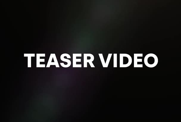 create an amazing teaser clip for your song or video