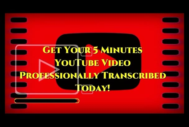 quickly Transcribe your YouTube Videos