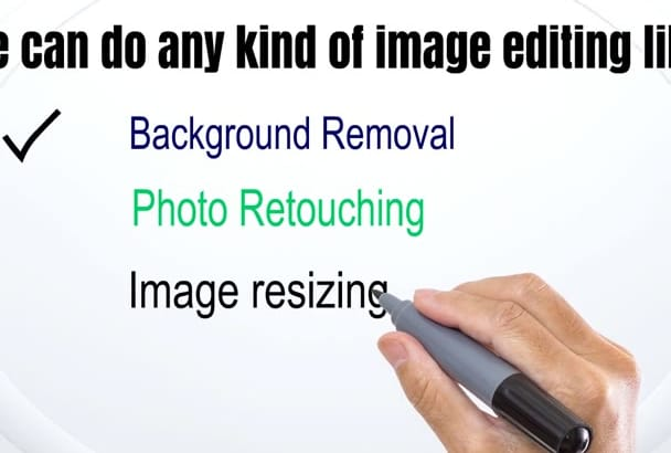 remove background and photo editing