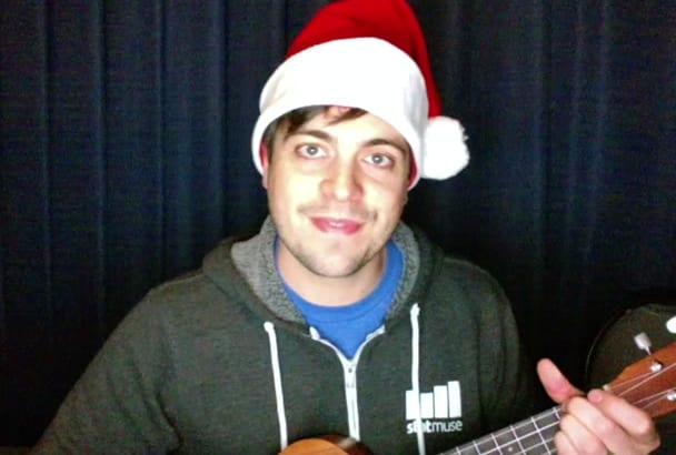 write an original song for a Christmas gift