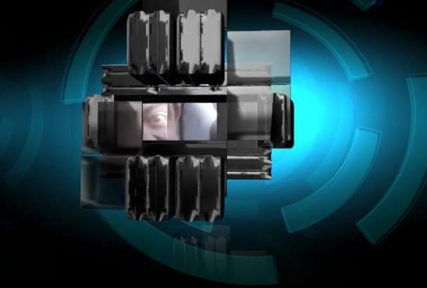 do an Professional Robotic Intro Video and an Unannounced Bonus