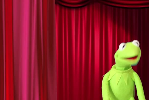 record your custom personalized puppet videos with Kermit the Frog