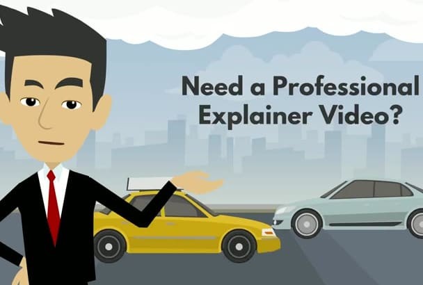 create Professional Animated 2D HD Explainer Videos Fast