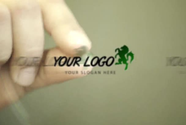 animate 3 awesome hand logo intro
