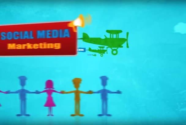 create a custom made Cartoon EXPLAINER video