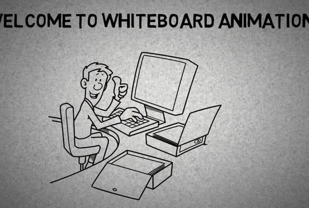 create Amazing whiteboard animation Videos