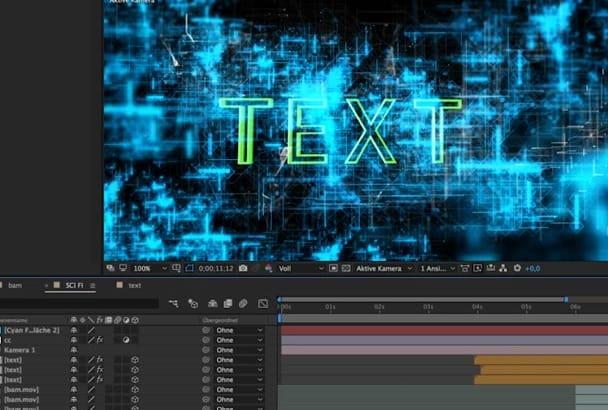 do Video Editing, Cutting, VFX Design
