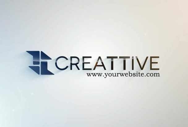 create 4 logo intro in HD