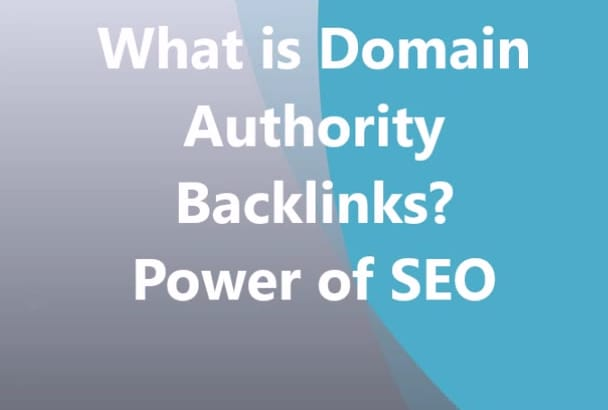 high Quality BackLinks from Relevant 70 DA Sites