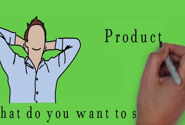create a Professional  animation explainer or sales video
