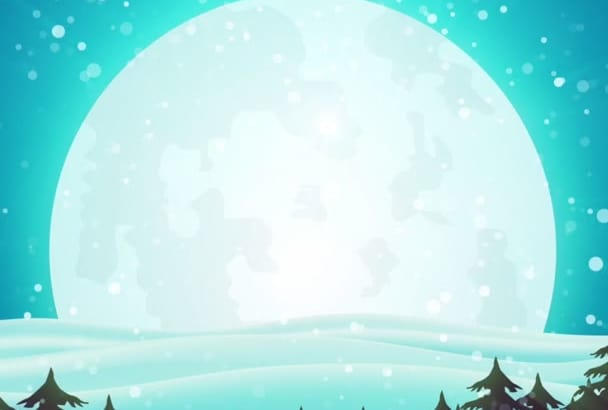 create this christmas logo intro video ad for any business hd 1080p