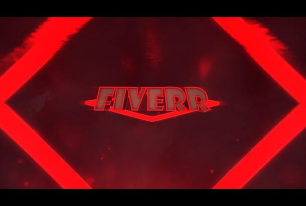 do this 3D text LOGO Animation for you