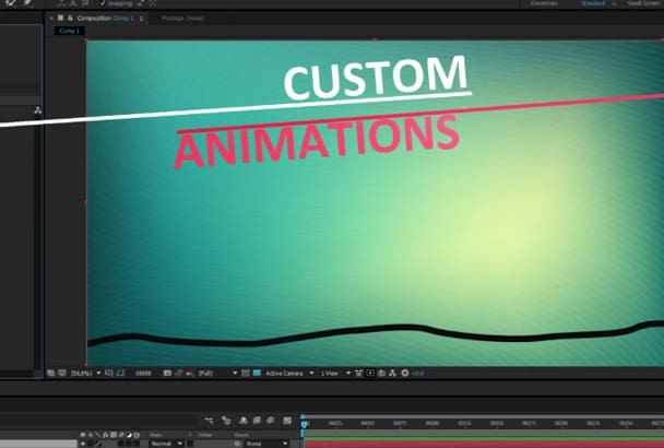 customise any AE template and more
