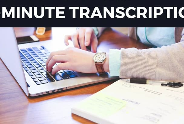 transcribe 15 minute videos or audio files in 24 hours