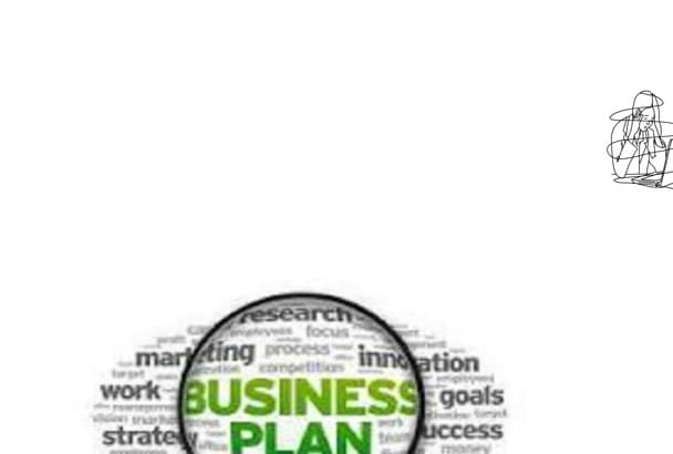 help you write a professional BUSINESS plan