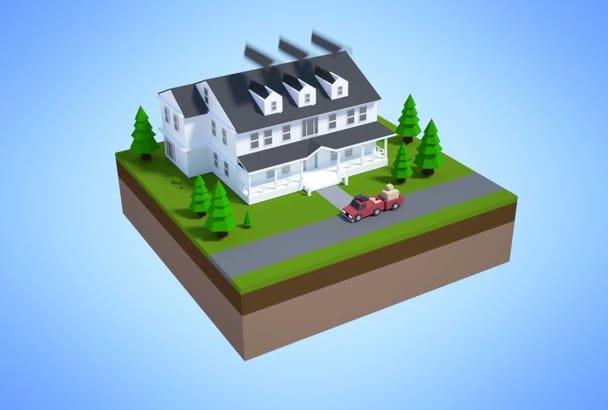 make a real estate video intro