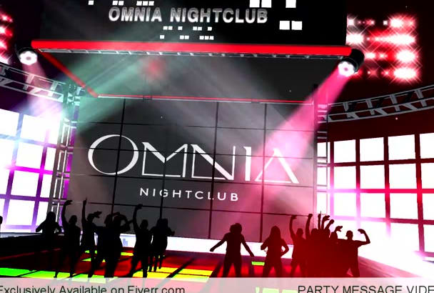 design Intro Promo Video for Party, DJ, Pub, Club, Concert