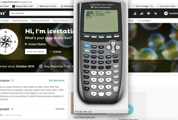 create IT 84 programs for your calculator