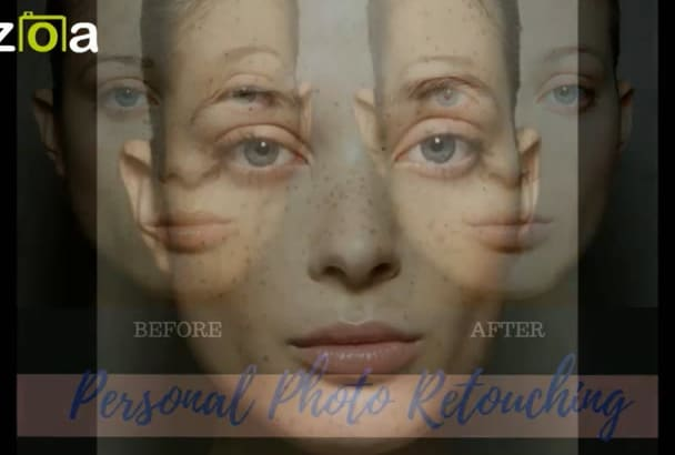 retouch your personal photo