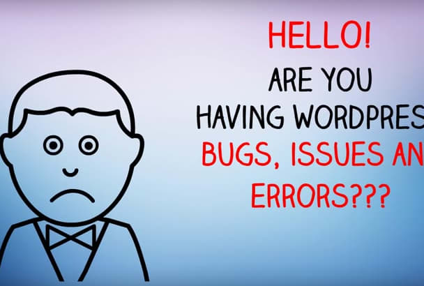 fix wordpress and woocommerce bugs issues and problems