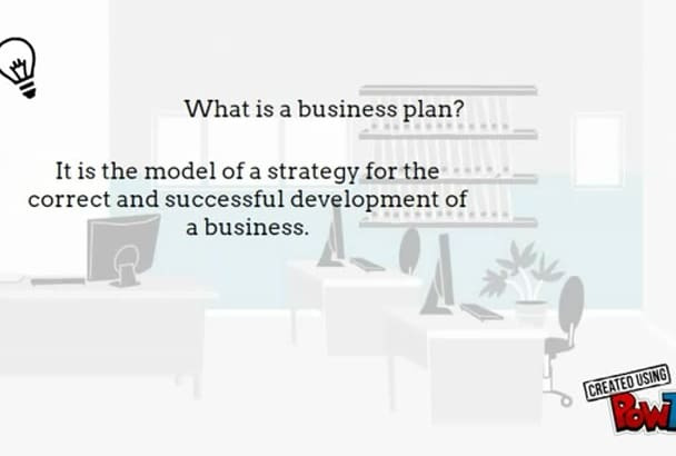 write The best Business Plan for you