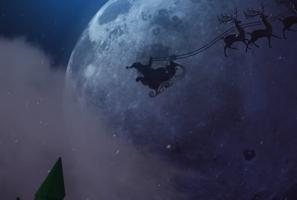 create fascinating christmas or holiday animation