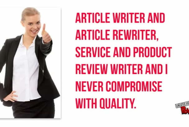 write original and High Quality content up to 1000 words