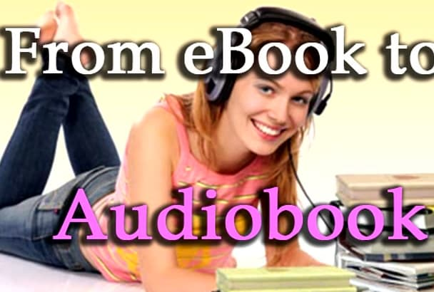 turn your ebook into an audiobook