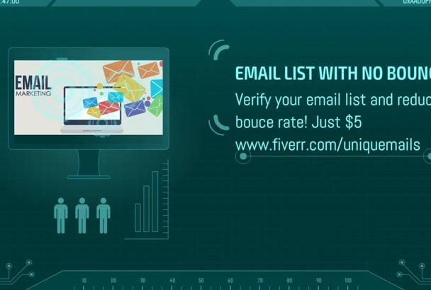 verify your email list and filter out the inactive ones